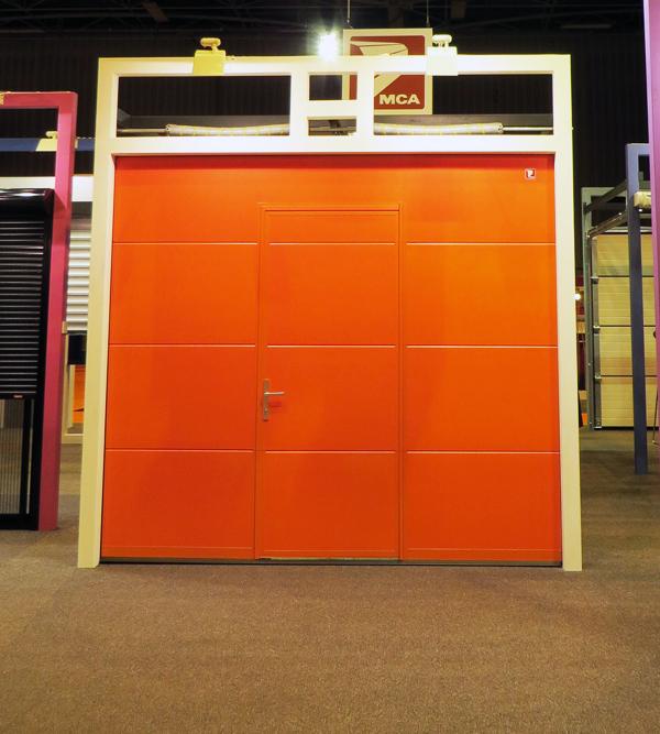 Volets roulants nouvelles le stand mca au salon equip for Porte de garage mca