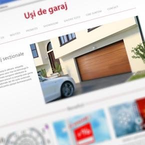 MCA lanseaza un nou site pentru usile de garaj sectionale
