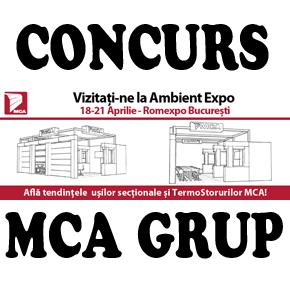 Concurs pe Facebook/MCAGrup: MCA participa la Ambient Expo 2013