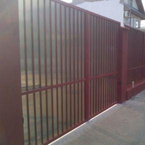 Proiect special MCA in Bucuresti: Garduri si porti din structura metalica