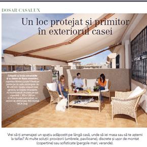 Casa lux: Totul despre solutii moderne de umbrire pentru casa, curte si gradina