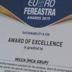 Premiu de excelenta la categoria Sustenabilitate si CSR