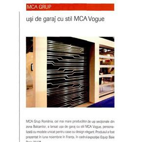 Igloo: Usi de garaj cu stil MCA Vogue