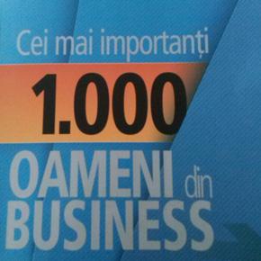 Ciprian Oprea, MCA, printre cei mai importanti 1.000 de oameni din business!