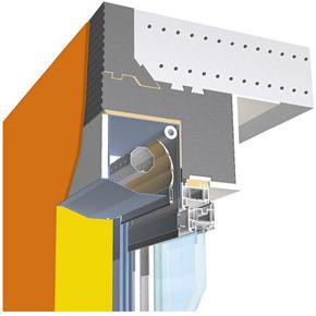 MCA are solutia optima pentru instalarea rulourilor exterioare suprapuse: SuperTherm