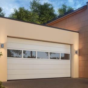 Panouri vitrate – solutia pentru lumina naturala in garaj