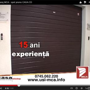 Teleshopping: Usi de garaj MCA la Prima TV