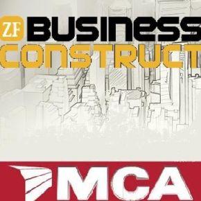 Directorul MCA sustine o prezentare la Gala ZF Business Construct - cea mai mare conferinta de const