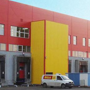 Service MCA pentru usi secţionale ale REWE Group, prezent in Romania prin lantul Billa