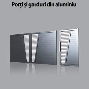 Noua brosura GAAL porti si garduri de aluminiu