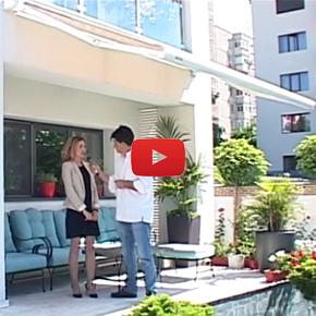 Cum alegi solutia de umbrire pentru terasa din spatele unei vile de lux? Video
