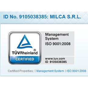 Le système de gestion de MCA dispose d'une certification internationale. Sécurité et qualité certifi
