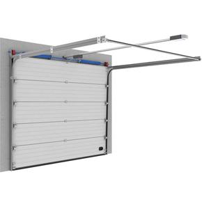 Portes sectionnelles à ressorts de torsion garantis pour 100.000 cycles de fonctionnement