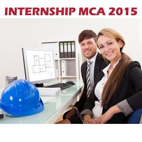 INTERNSHIP MCA GRUP 2015.
