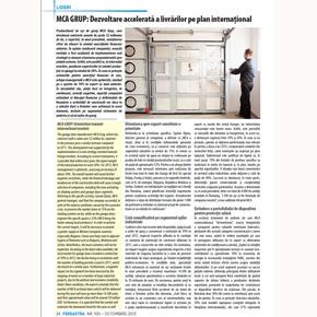 Revista Fereastra: Europenii cumpara din ce in ce mai multe usi de garaj MCA