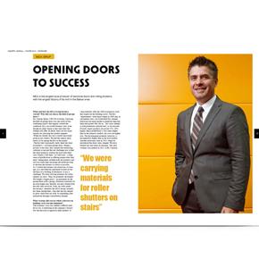 """MCA in revista Industry Journal: """"Opening Doors to Success"""""""