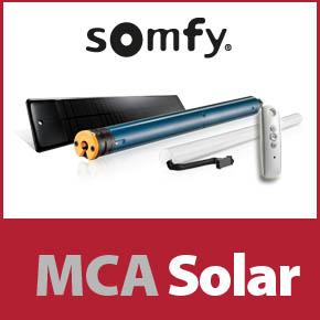 MCA Solar - Preturi speciale pentru  motoarele Somfy Solaire