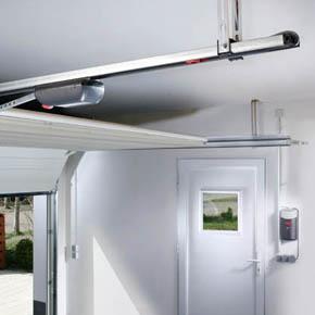 Usile de garaj MCA Optima automate – 3 variante de automatizare SOMMER